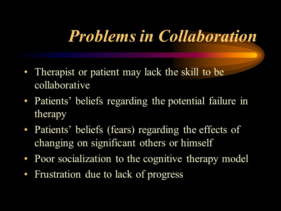 Problems in Collaboration