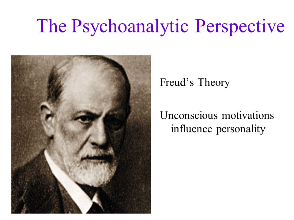 The Psychoanalytic Perspective