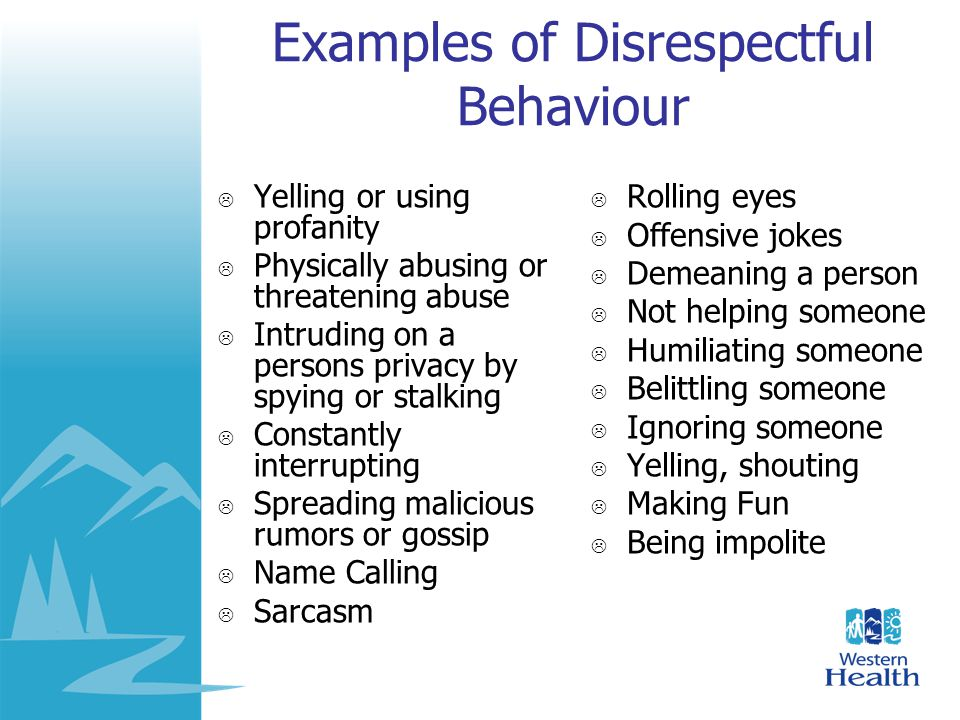 Respect And Your Role Ppt Video Online Download