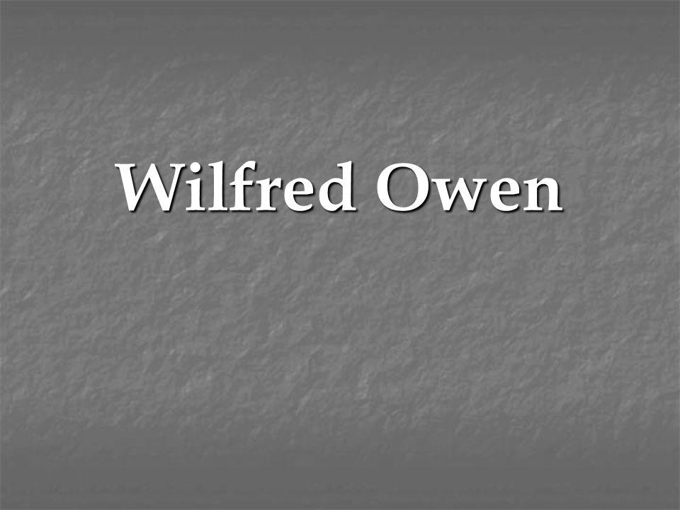 wilfred owen political views
