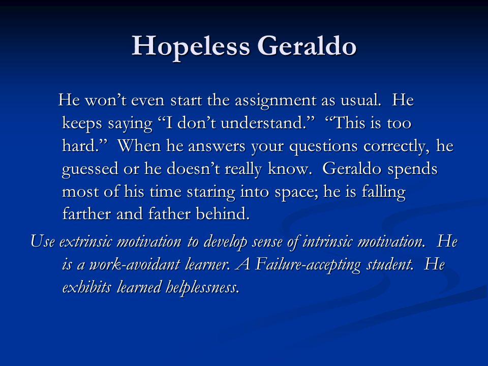 Hopeless Geraldo