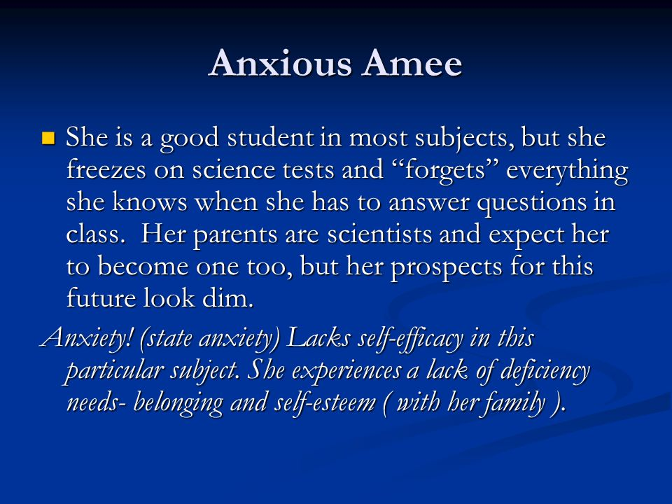Anxious Amee