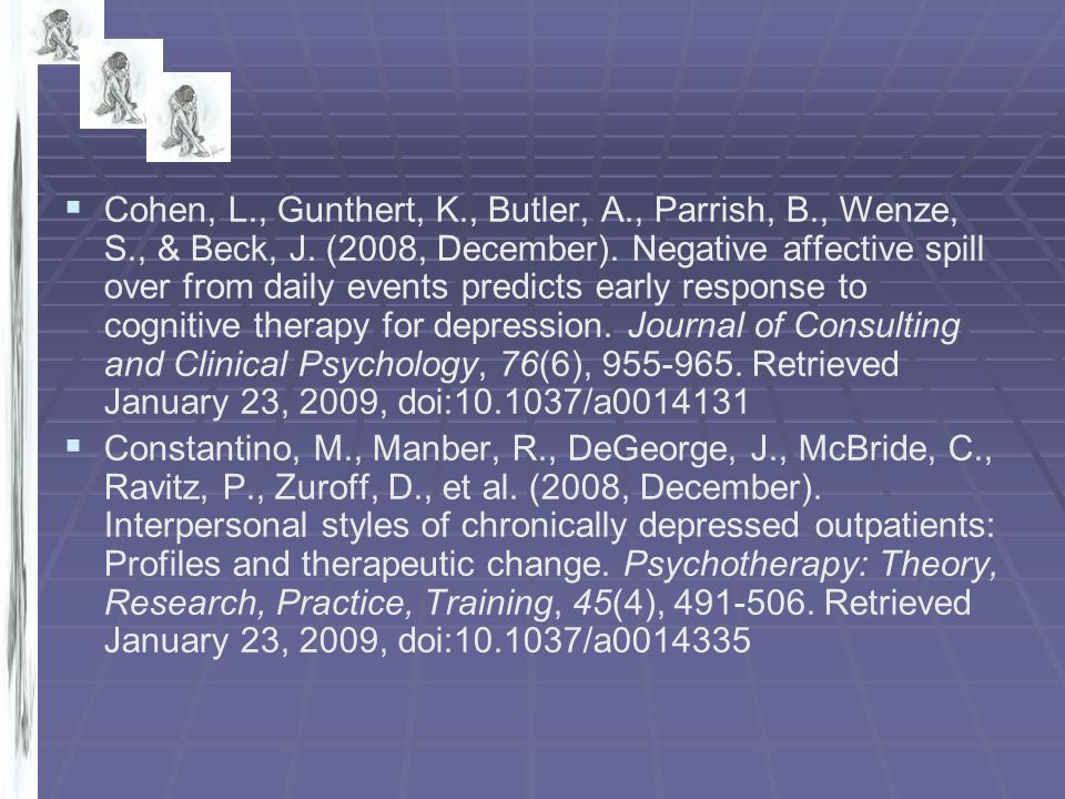 Cohen, L. , Gunthert, K. , Butler, A. , Parrish, B. , Wenze, S