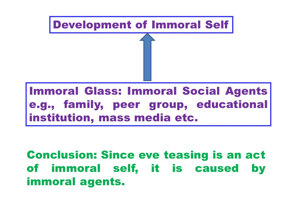 Development of Immoral Self