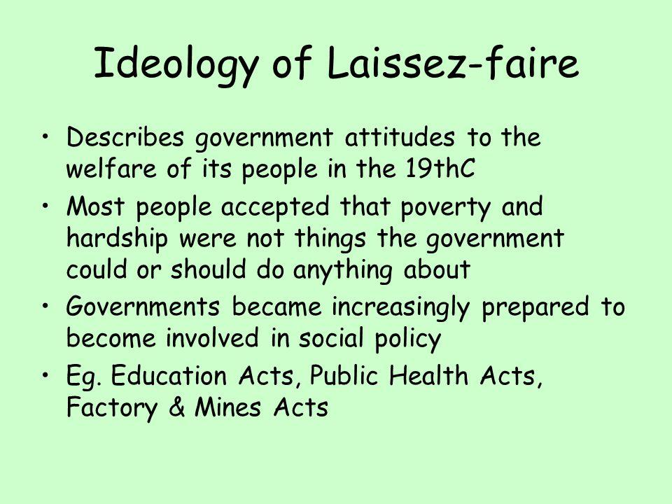 Ideology of Laissez-faire
