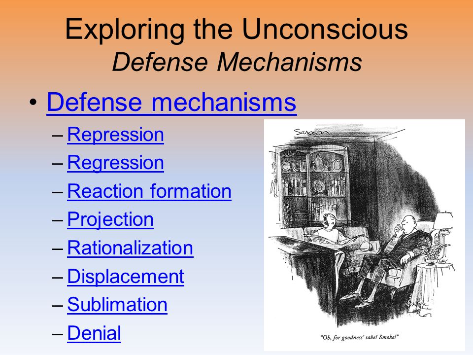 Exploring the Unconscious Defense Mechanisms