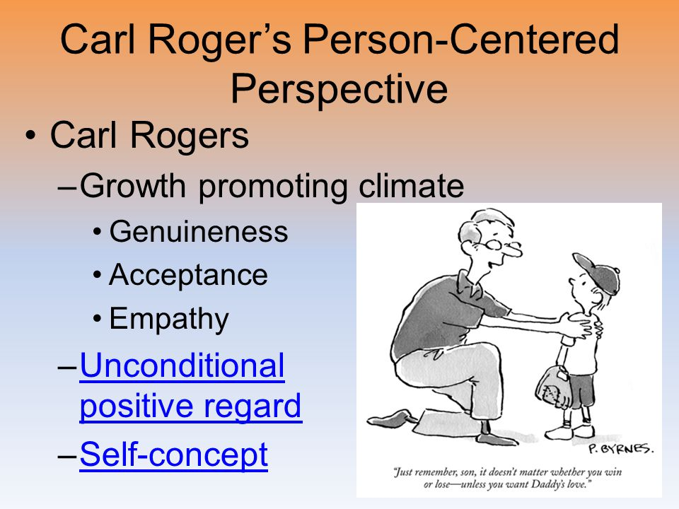 Carl Roger's Person-Centered Perspective