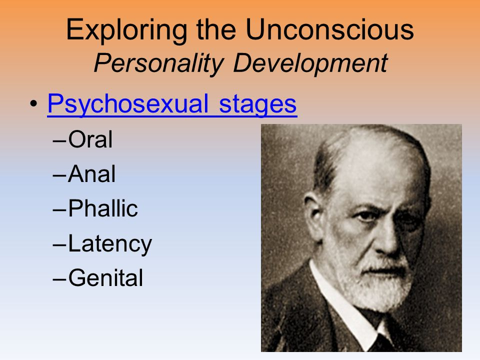 Exploring the Unconscious Personality Development