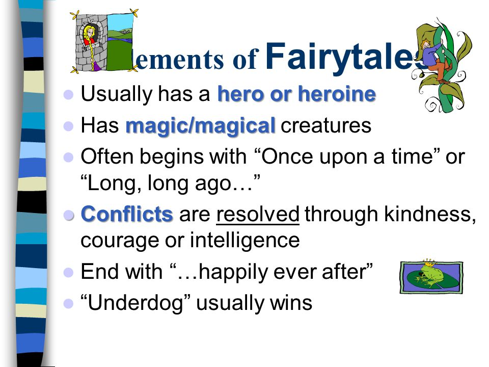 Elements of Fairytales