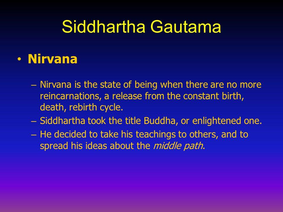 Siddhartha Gautama Nirvana