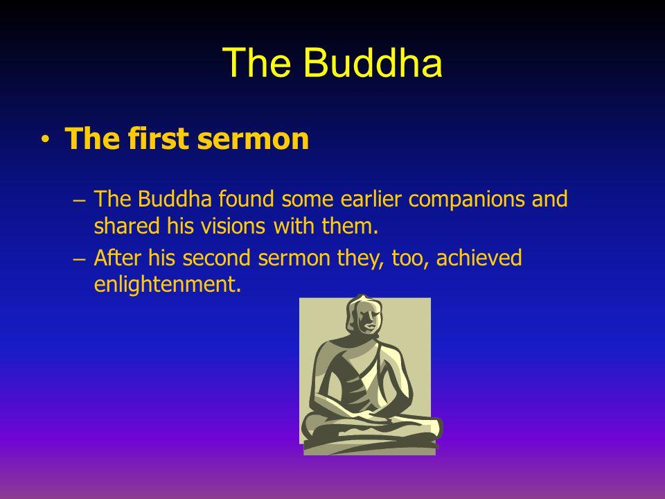 The Buddha The first sermon