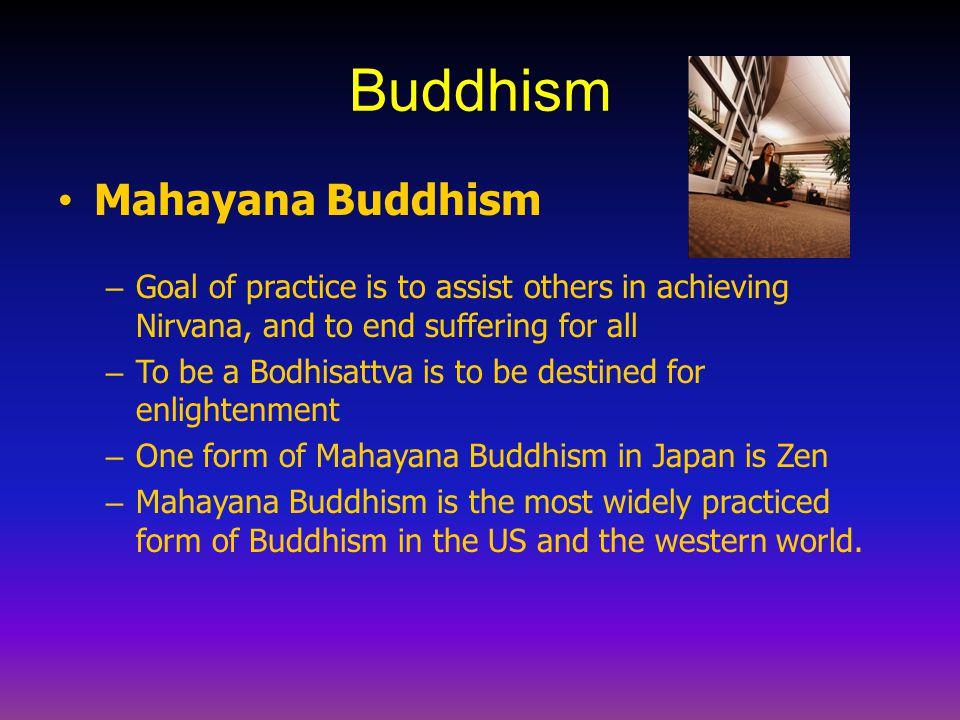 Buddhism Mahayana Buddhism