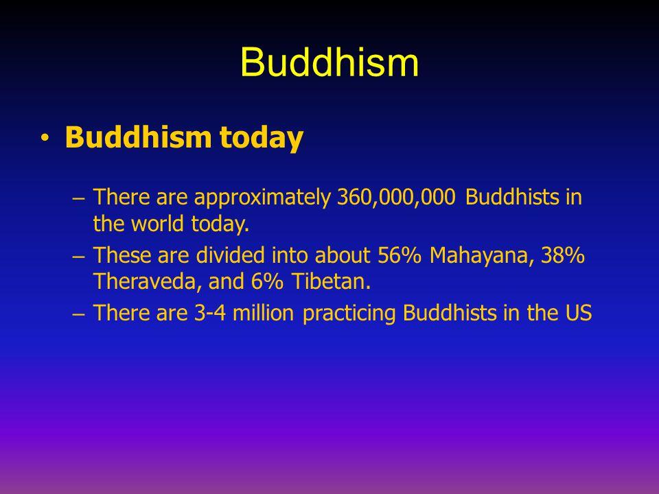 Buddhism Buddhism today
