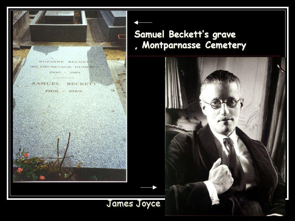 Samuel Beckett's grave