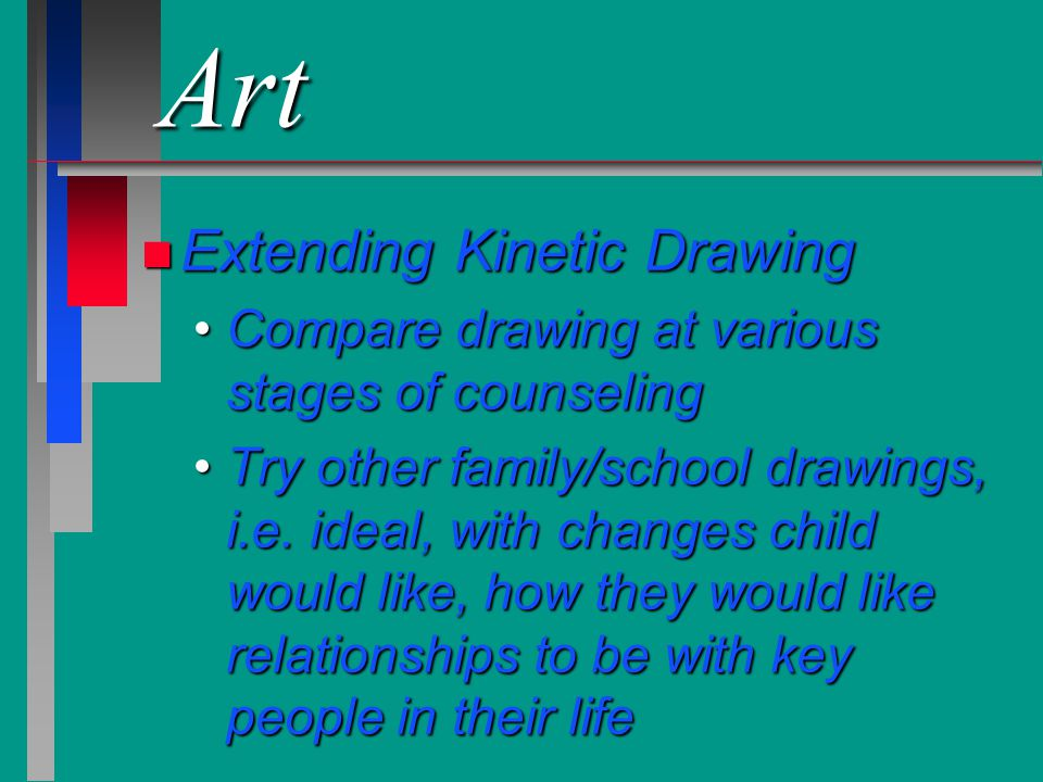 Art Extending Kinetic Drawing