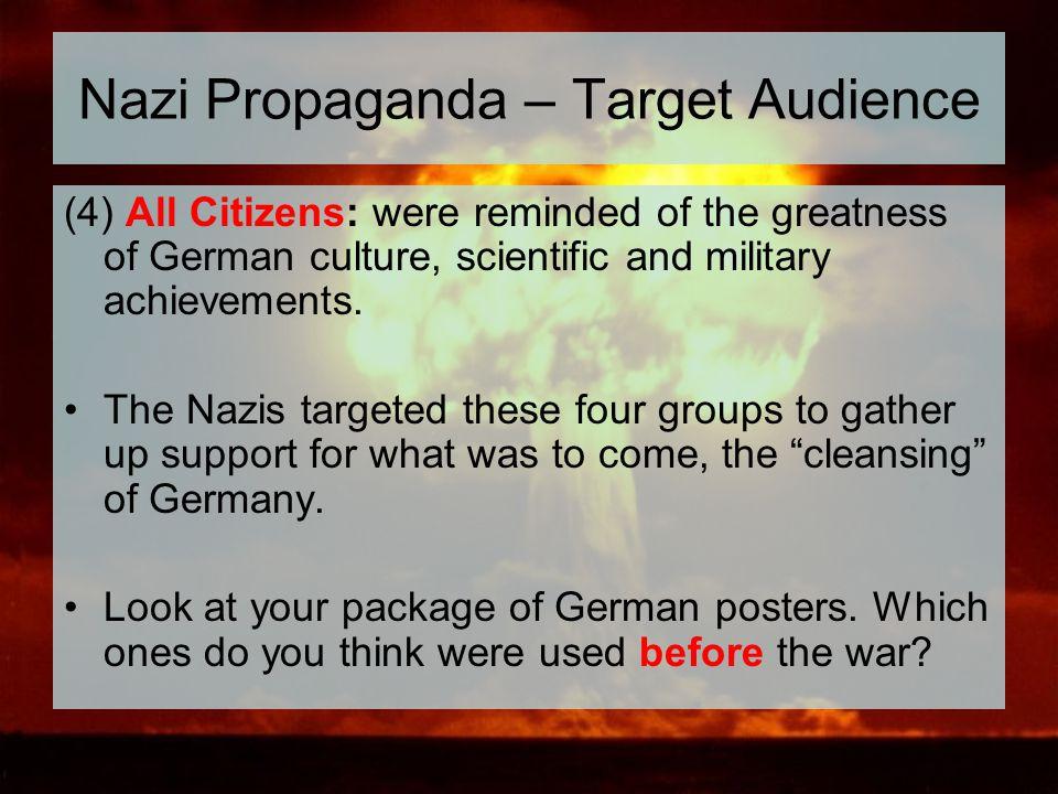 Nazi Propaganda – Target Audience