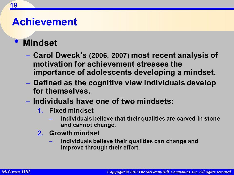 Achievement Mindset.