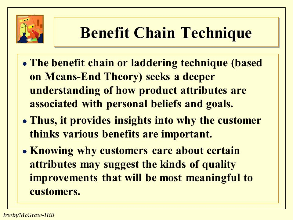 Benefit Chain Technique