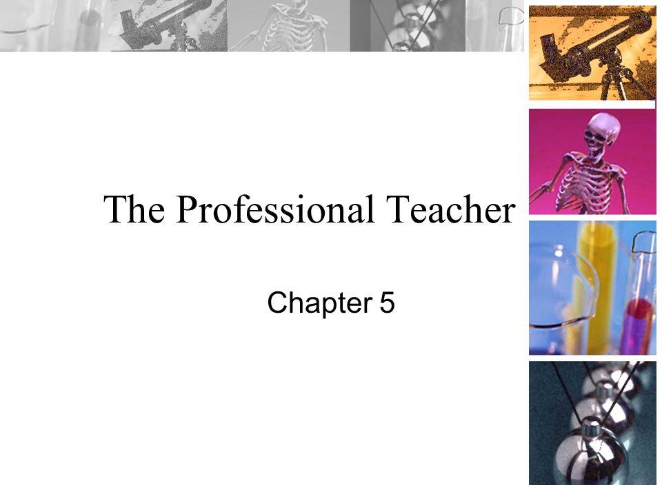 The Professional Teacher