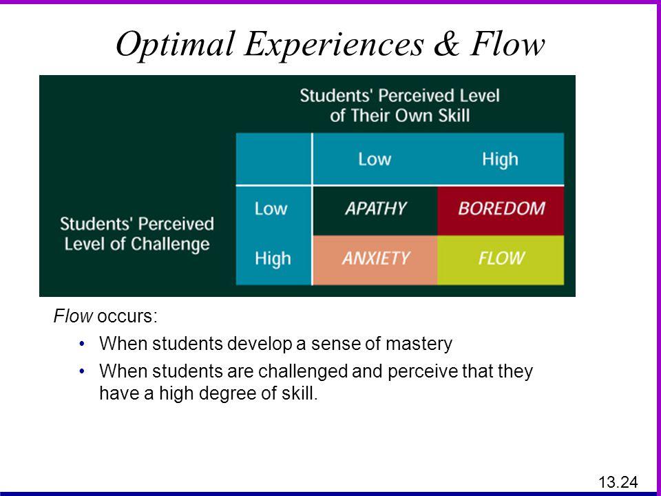 Optimal Experiences & Flow