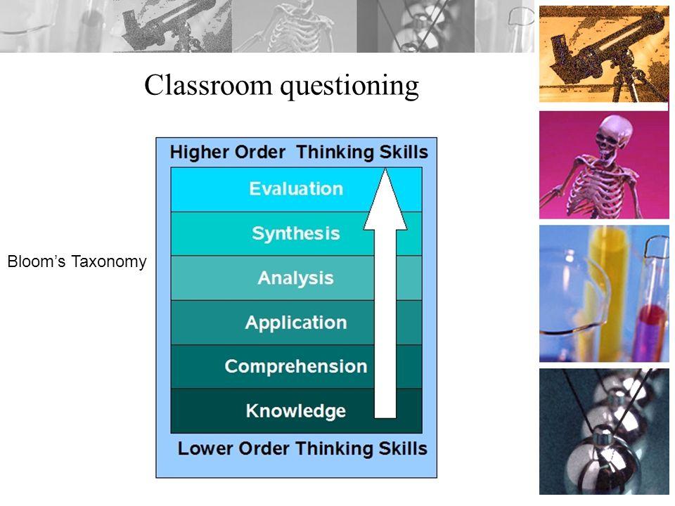 Classroom questioning