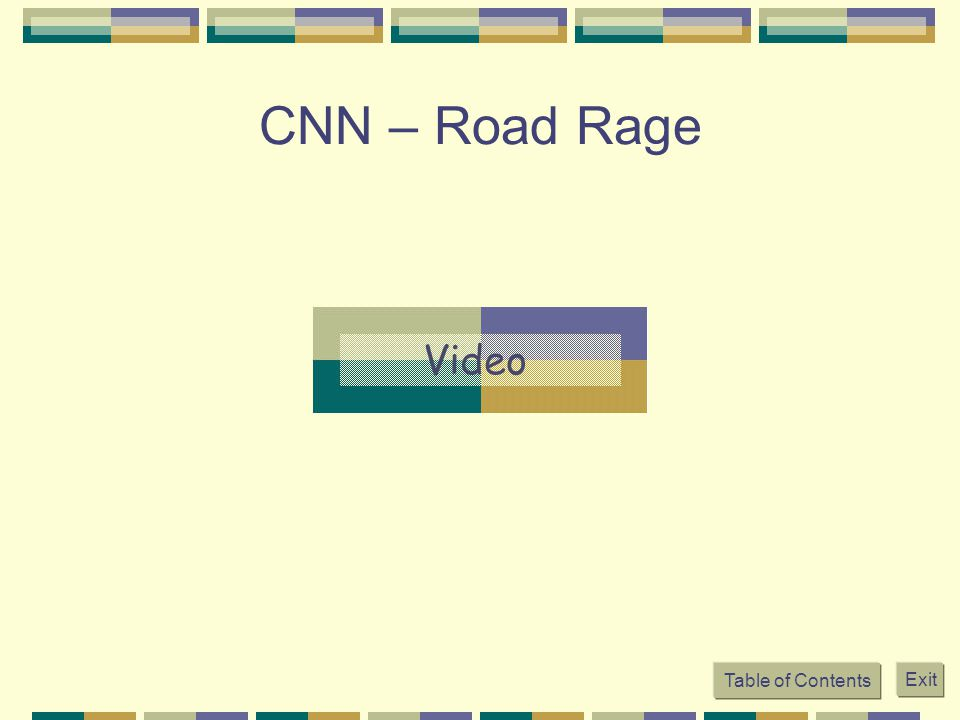 CNN – Road Rage