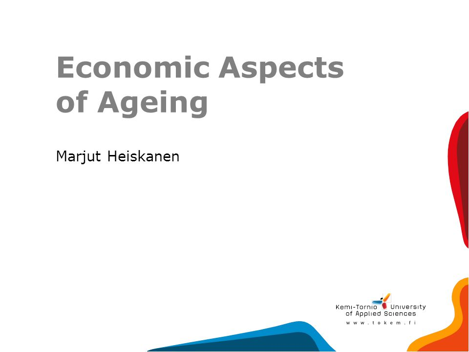 Economic Aspects of Ageing