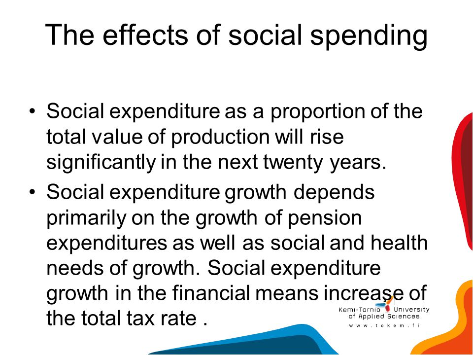 The effects of social spending