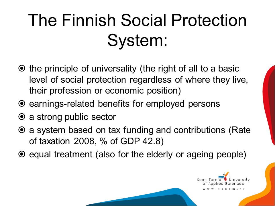 The Finnish Social Protection System: