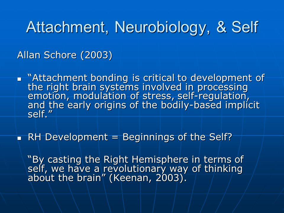 Attachment, Neurobiology, & Self