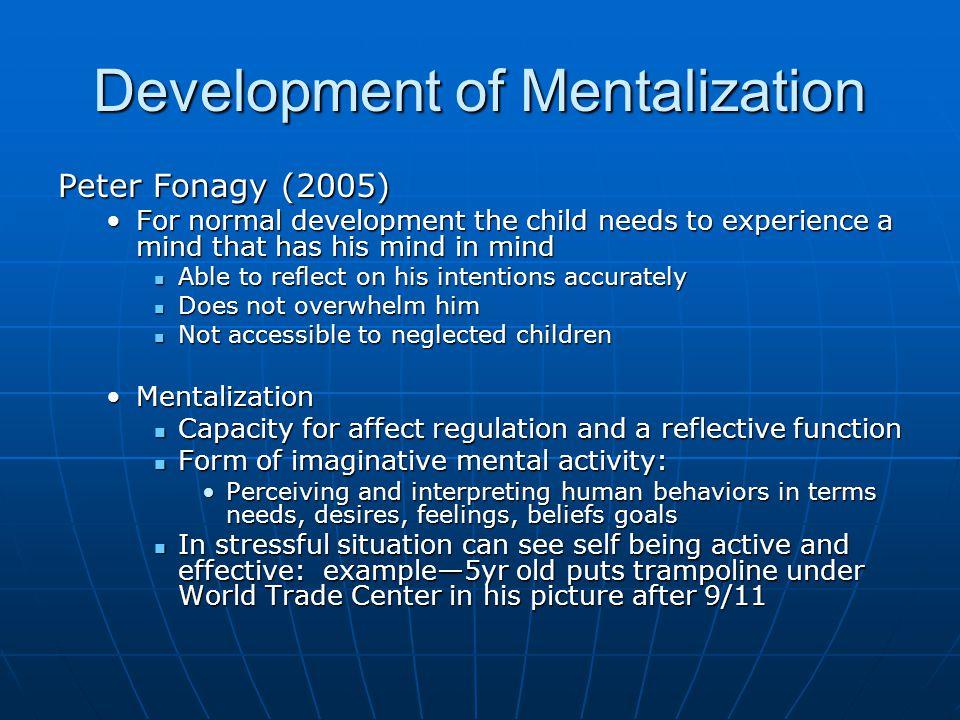 Development of Mentalization