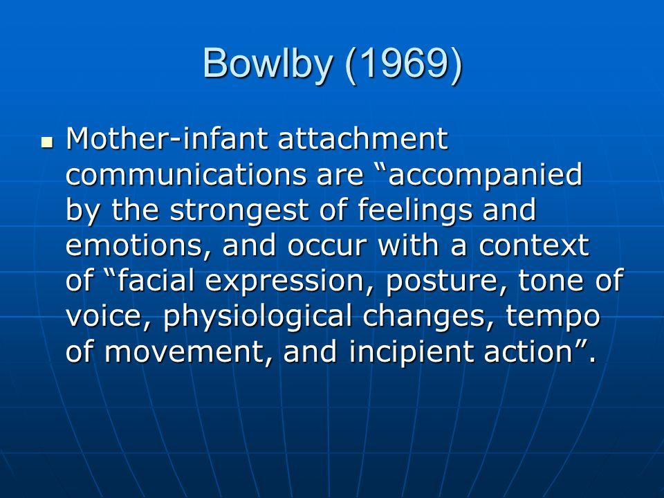 Bowlby (1969)