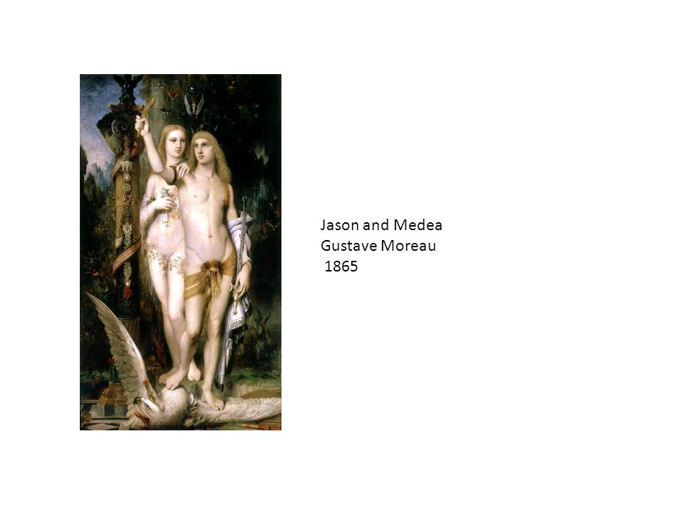 Jason and Medea Gustave Moreau 1865