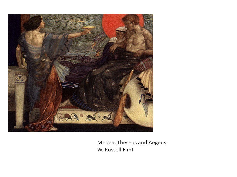 Medea, Theseus and Aegeus W. Russell Flint