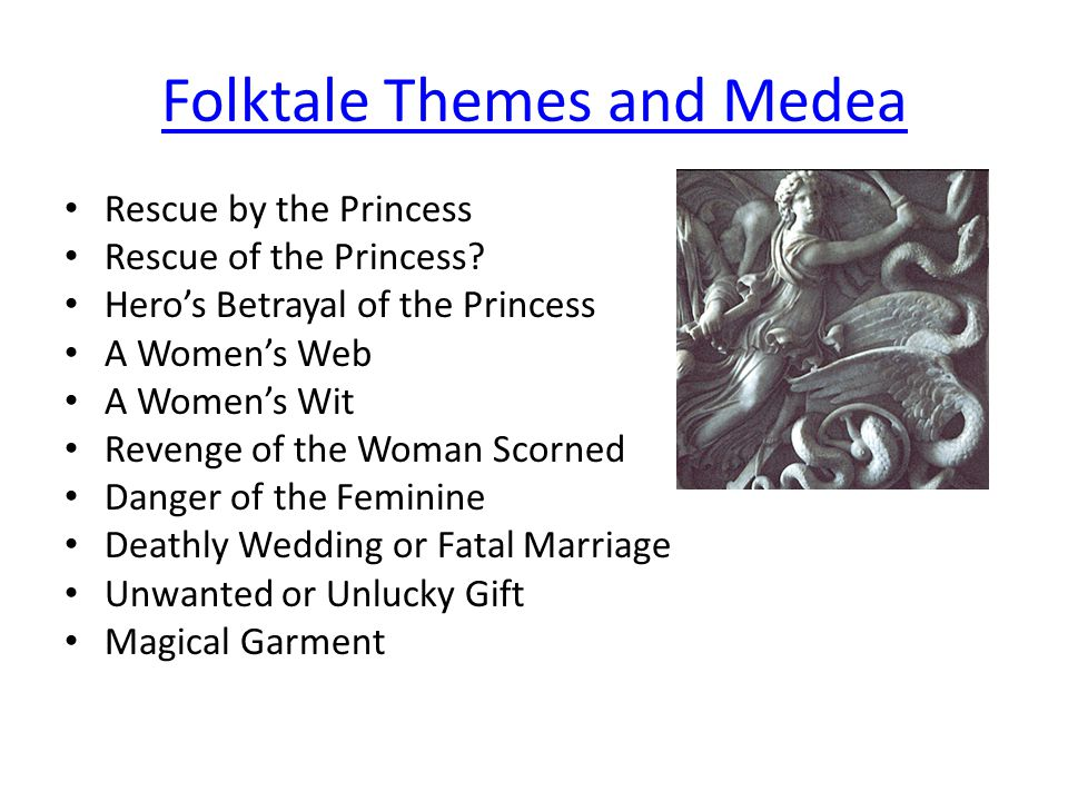 Folktale Themes and Medea