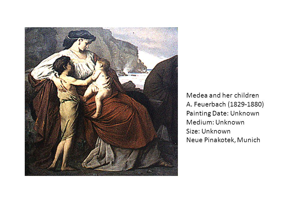 Medea and her children A