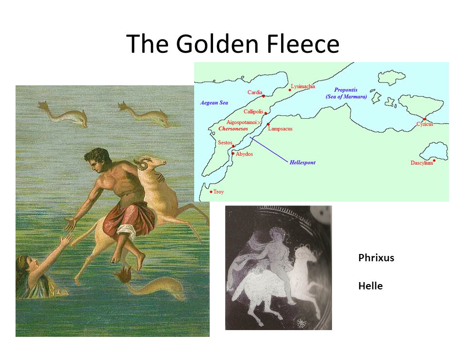 The Golden Fleece Phrixus Helle