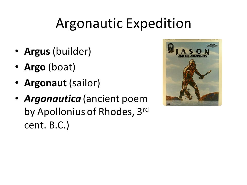 Argonautic Expedition