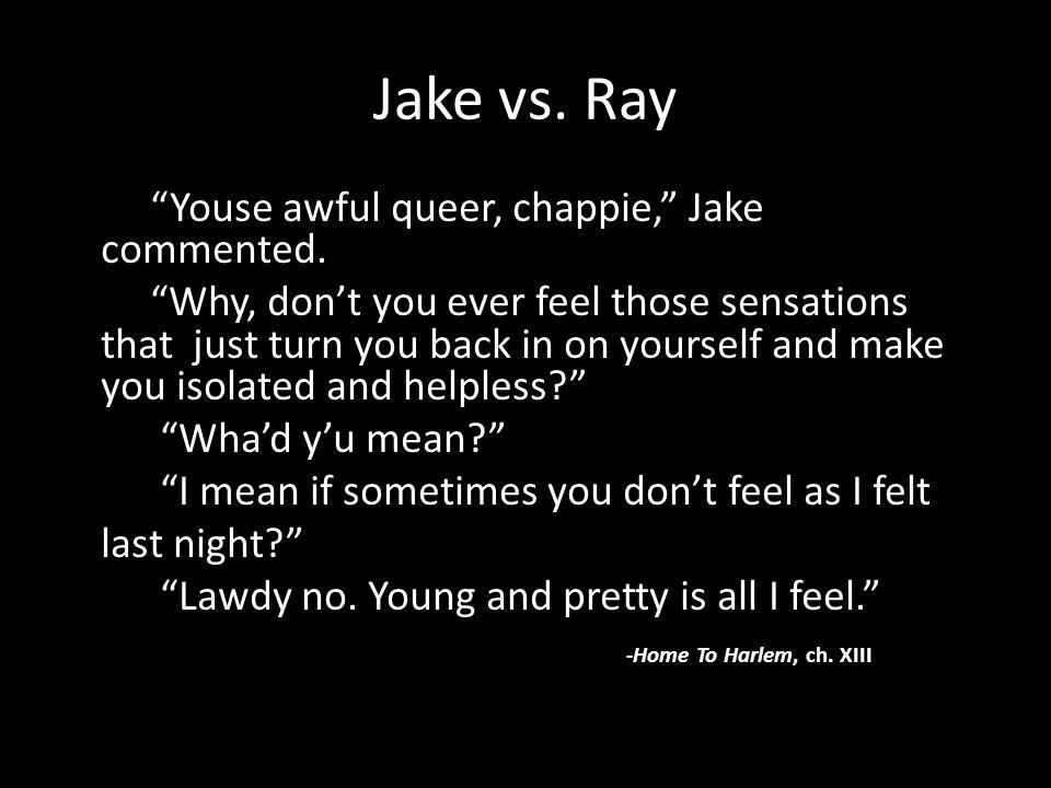 Jake vs. Ray