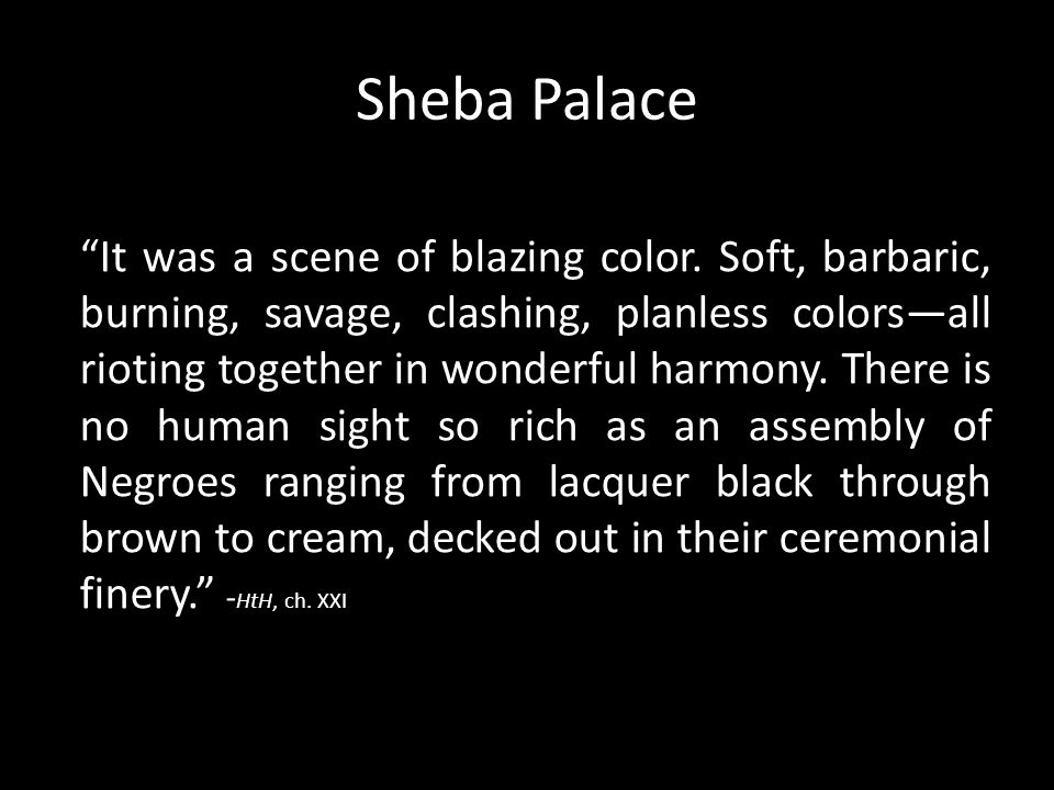 Sheba Palace
