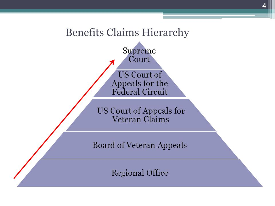 Benefits Claims Hierarchy