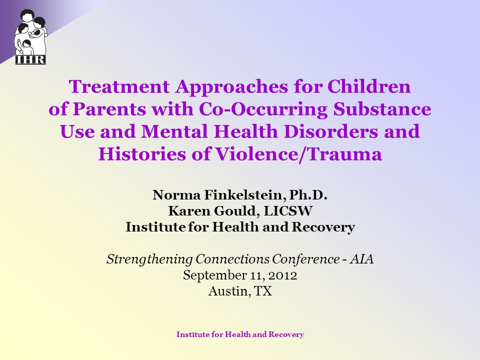 Institute for Health and Recovery