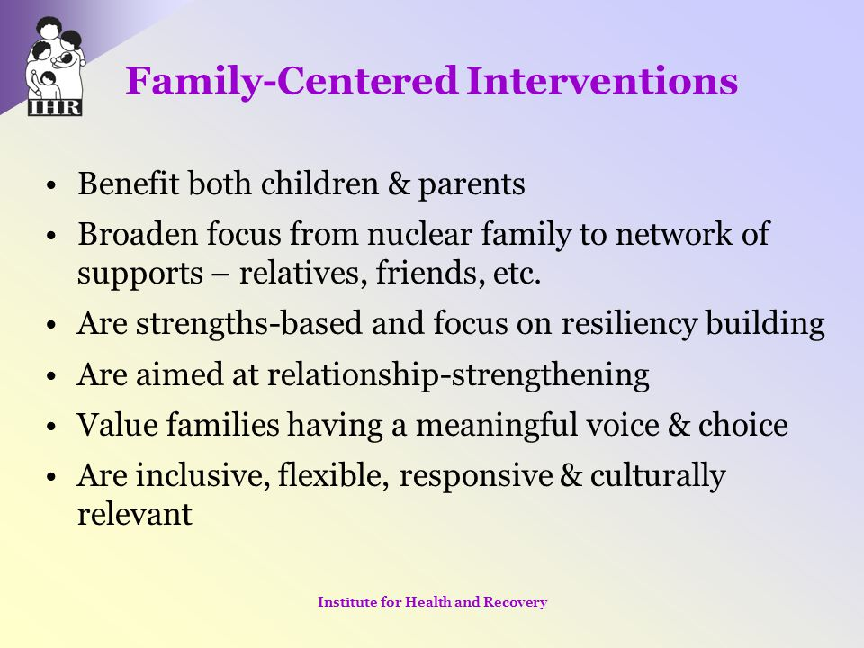 Family-Centered Interventions