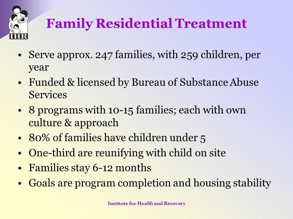 Family Residential Treatment