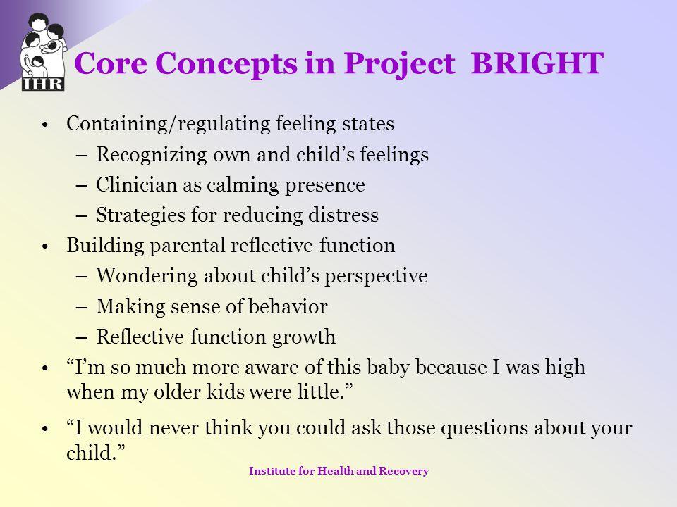 Core Concepts in Project BRIGHT