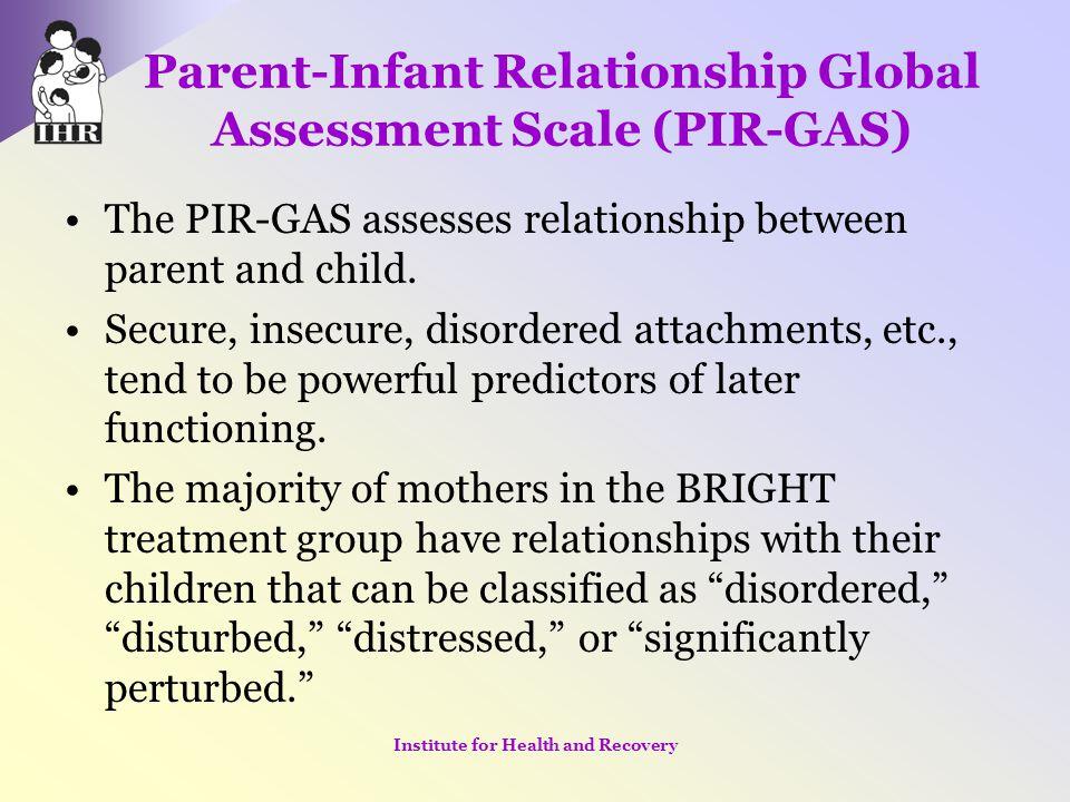 Parent-Infant Relationship Global Assessment Scale (PIR-GAS)