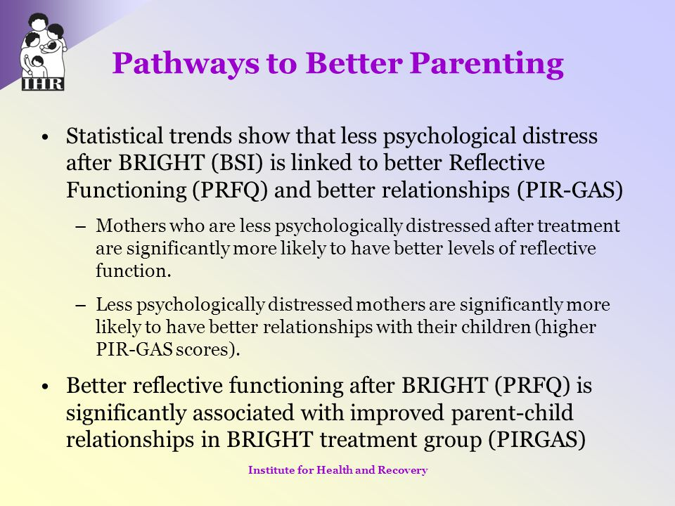 Pathways to Better Parenting