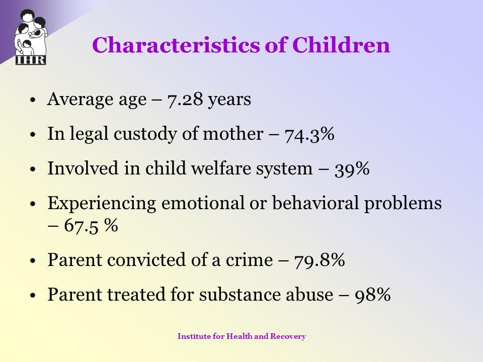 Characteristics of Children