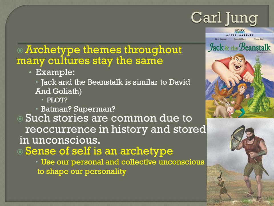 Carl Jung Archetype themes throughout many cultures stay the same