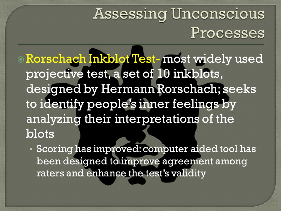 Assessing Unconscious Processes